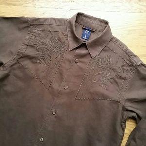 Size 8 boy Gap linen shirt